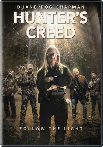 HUNTER#x27;S CREED New Sealed DVD Duane Dog Chapman from Dog the Bounty Hunter $13.98