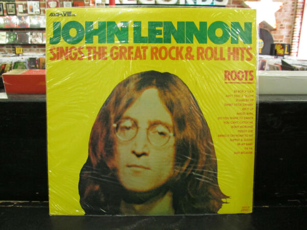 JOHN LENNON Sings The Great Rock amp; Roll Hits LP ROOTS Vinyl RECORD Sealed NEW