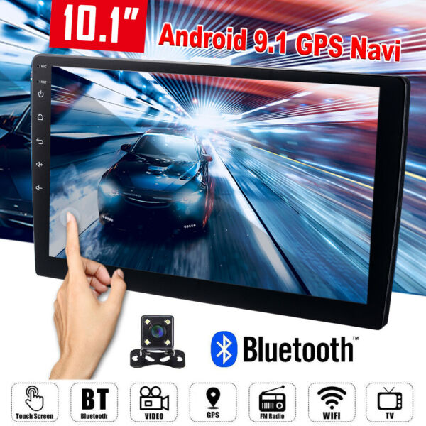 2Din 10.1quot; Android 9.1 Car Stereo FM Radio Wifi Player GPS Navi Quad Core MA2241 $97.99