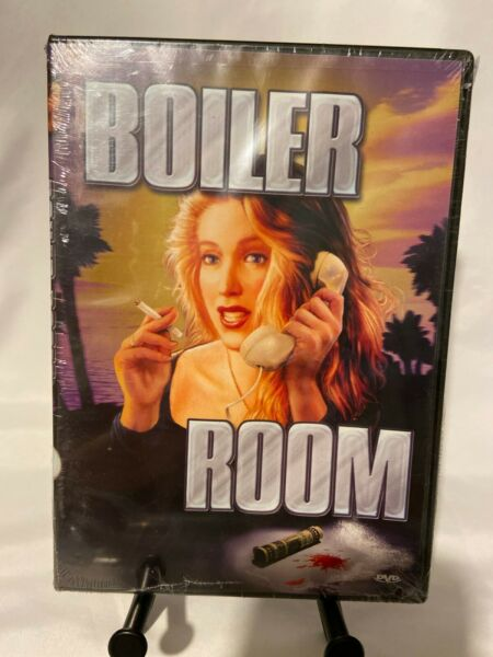 Boiler Room DVD 2004 Joe Estevez 1992 1984 New $15.99