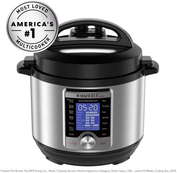 Instant Pot Ultra 3 Qt 10 in 1 Multi Use Programmable Pressure Cooker Slow $39.99