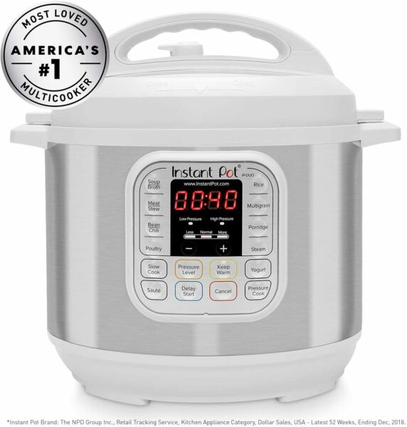 Instant Pot Duo 7 in 1 Electric Pressure Cooker Slow Cooker Rice Cooker $39.99