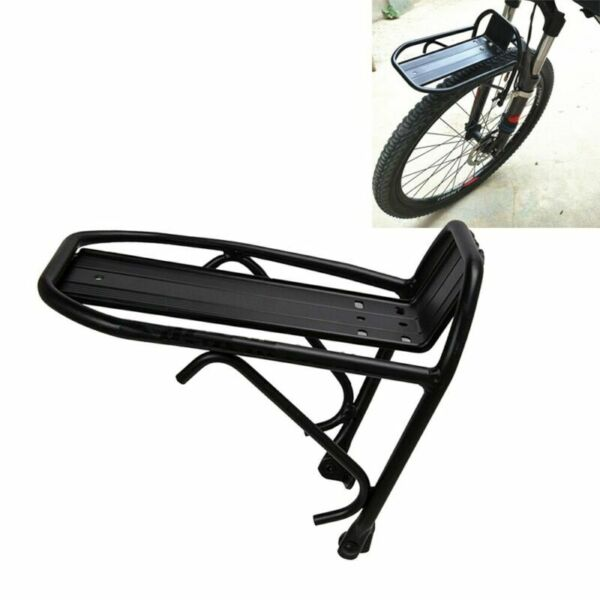 Bike Cargo Rack Bike Front Luggage Rack Bicycle Rear Goods Carrier Pannier $14.49