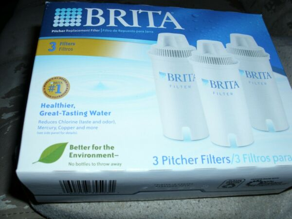 9 Sealed Genuine Brita Pitcher Filter Replacement Refills Filters New