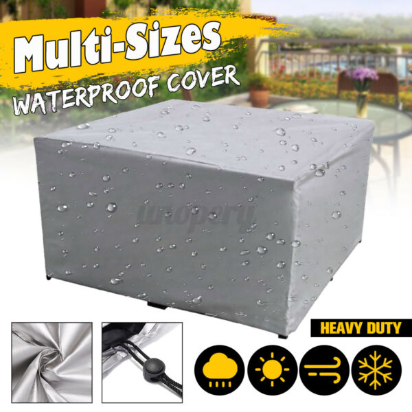 Outdoor Cover Garden Furniture Waterproof Patio Rattan Table Cube Set All C $20.50