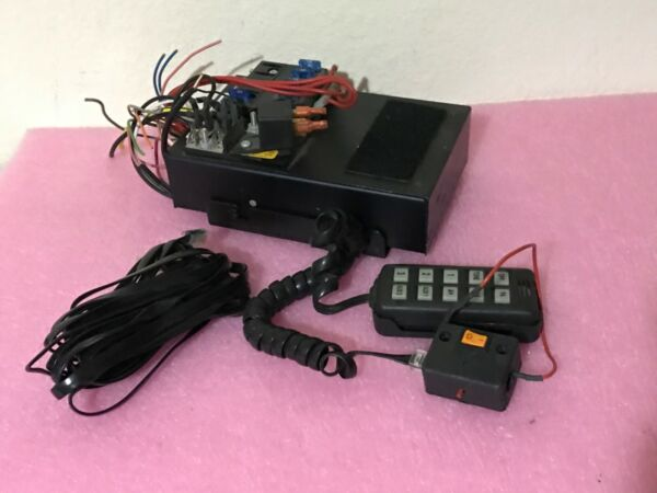 Federal Signal 650001 Remote 650 series Amplifier and Controller Working
