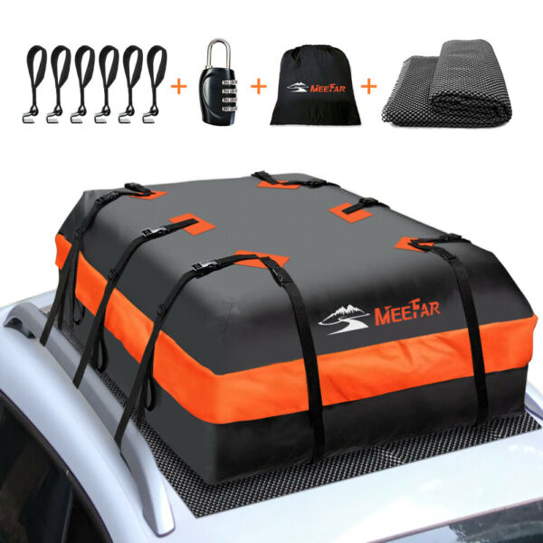 Roof top Bag Cargo Carrier Waterproof 20 Cubic for All Cars with Without Rack $89.89