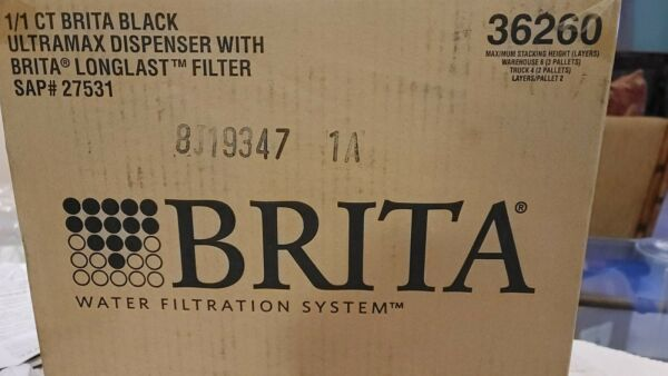 Brita Ultra Max with 1 Longlast Filter Extra Large 18 Cup Black Broken Back