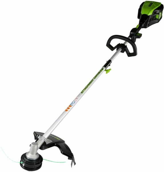 Greenworks PRO 16 Inch 80V Cordless String Trimmer Attachment Capable GST80320