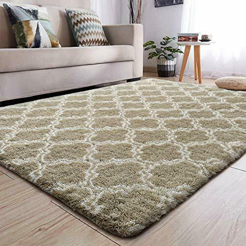 Soft Indoor Large Modern Area Rugs Shaggy Patterned Fluffy Carpets Suitable for $103.78