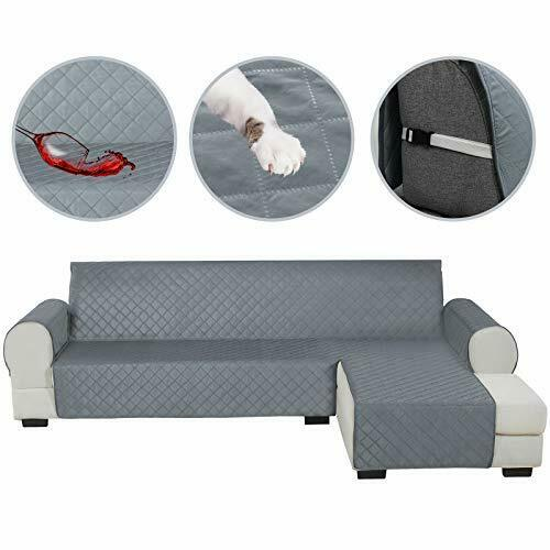 Sectional Couch Covers for Dogs Water Resistant L Shape Sofa Cover Pet Friendly $99.53