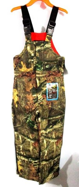 Mossy Oak Breakup Infinity Insulated Bibs Overalls Youth Small New With Tags $29.99