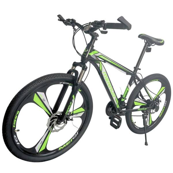 Mountain Bike For Men#x27;s Bicycle 21 Speed 26quot; MAG Wheels Bicycle MTB Bikes Green $189.99