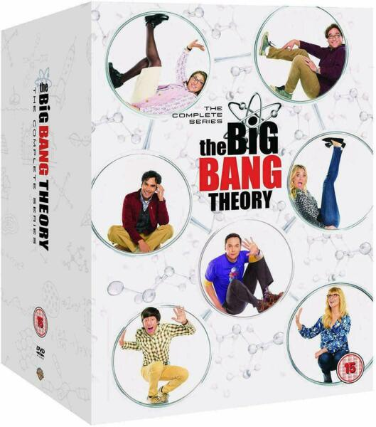 THE BIG BANG THEORY Complete Series Seasons 1 12 DVD Box Set New amp; Sealed
