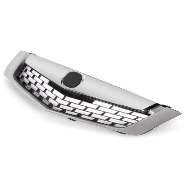 Front Bumper Grille Chrome Replacement Mesh Grill For 09 10 ACURA TSX