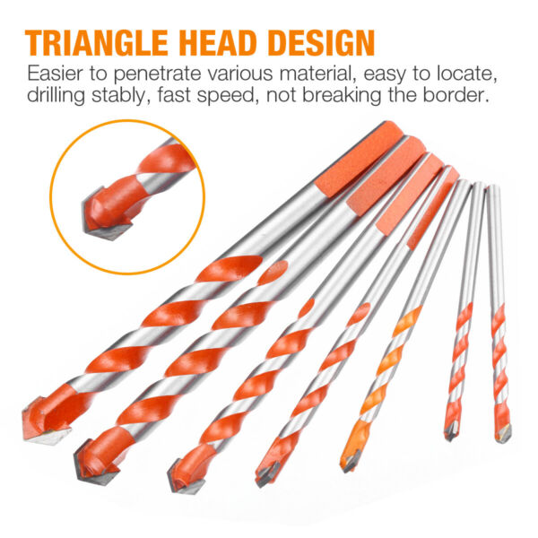 Multifunctional Ultimate Drill Bits Ceramic Wall Glass Punching Hole Working $9.95