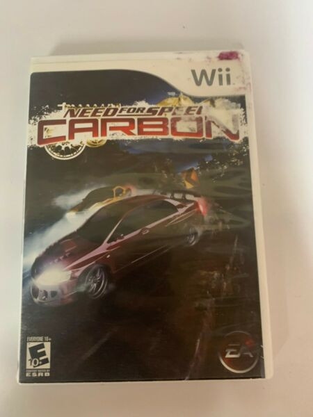 Wii Need For Speed Carbon Game Used A01 $13.48