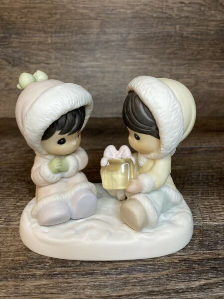 Precious Moments Figurine I Only Have Ice for You 1995 530956 Christmas $7.99