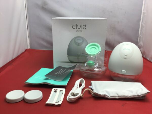 Elvie Single Electric Breast Pump Wearable Silent Hassle Free EP01 USED