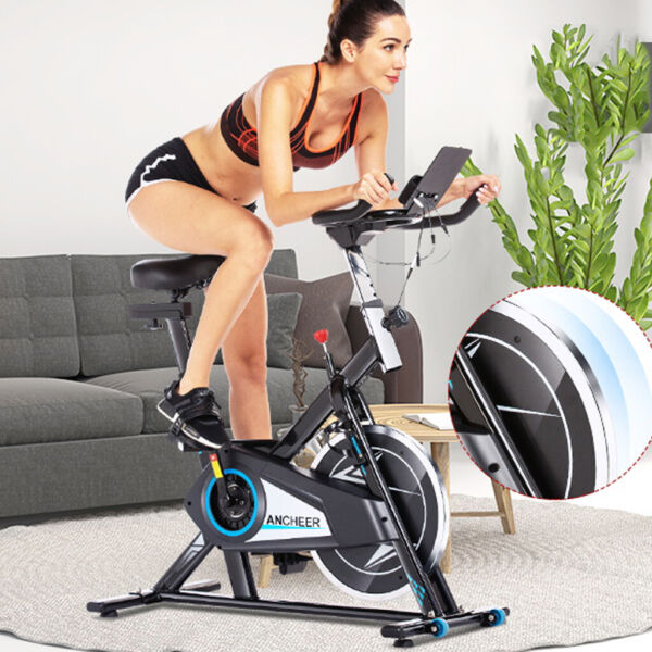 Stationary Exercise Bike Indoor Cycling Bicycle Cardio Fitness Gym Workout 40lb $259.99