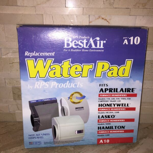 BestAir A10 Best Air Furnace Humidifier Evaporator Replacement Water Pad $9.99