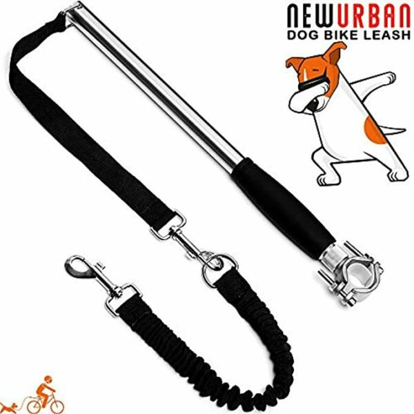 Dog Bike Leash Easy Installation Removal Hand Free for Training Cycling $25.99