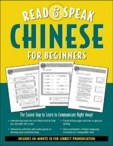 Read and Speak Chinese for Beginners : The Easiest Way to Learn to... $4.09