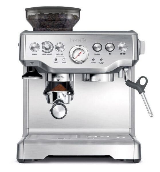 Breville the Barista Express Espresso Machine Brushed Stainless Steel
