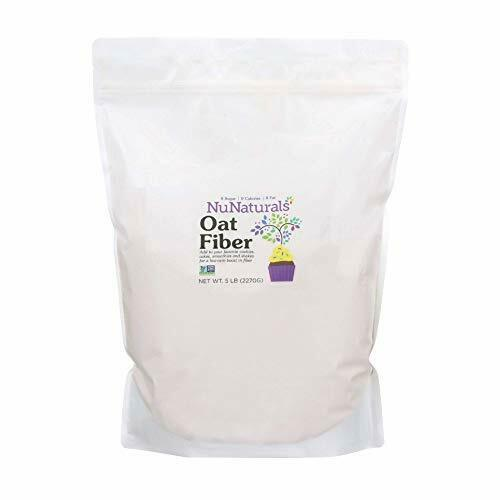 All Natural Oat Fiber Non GMO Certified Perfect for low carb or ketogenic baking