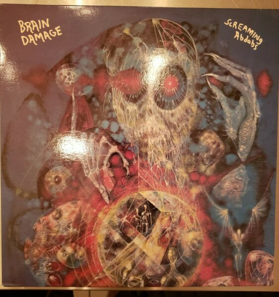 Pink Floyd Brain Damage Screaming Abdabs LP