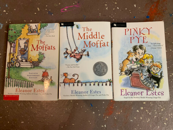 The Moffats Childrens Book Lot 3 by Eleanor Estes Middle Moffat amp; Pinky Pye