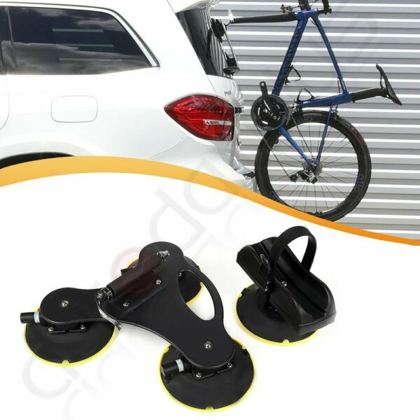 ONE Bike Roof Rack Suction Bicycle Rooftop Rack 1 Bike Holder Carrier $125.89