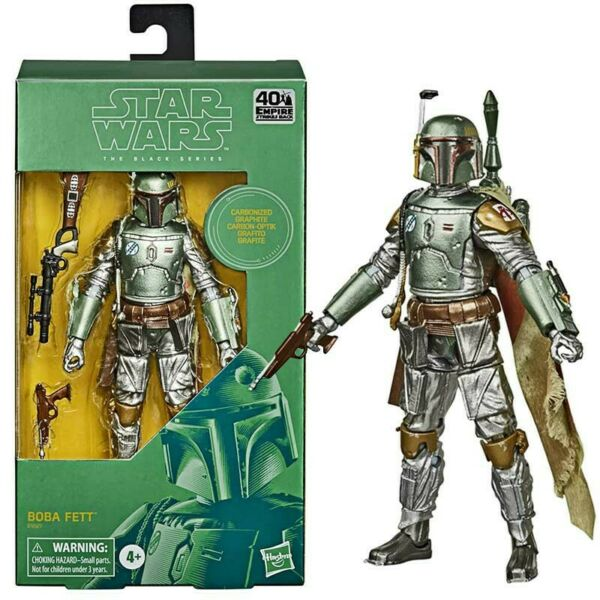 Star Wars The Black Series Carbonized Boba Fett 6 Inch Action Figure
