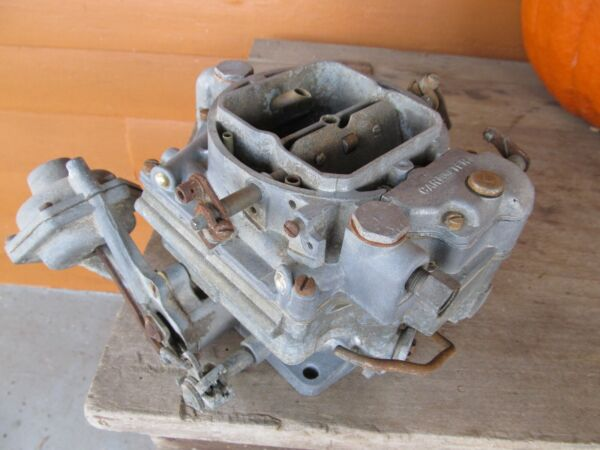 NICE 1956 Carter WCFB Four Barrel Carburetor Mercury with Loadomatic Distributor $224.99