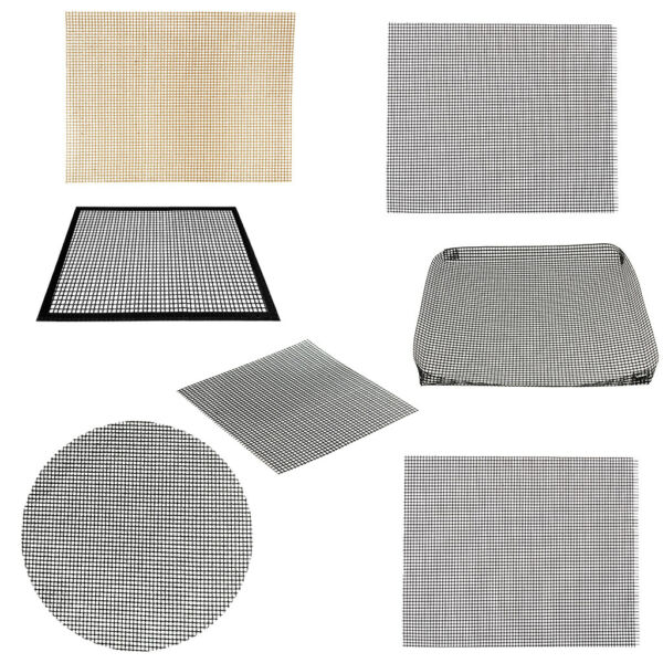 Cooking Grill Mat BBQ Mesh Wire Mats Barbecue Non Stick Tool Outdoor Accessories $10.52