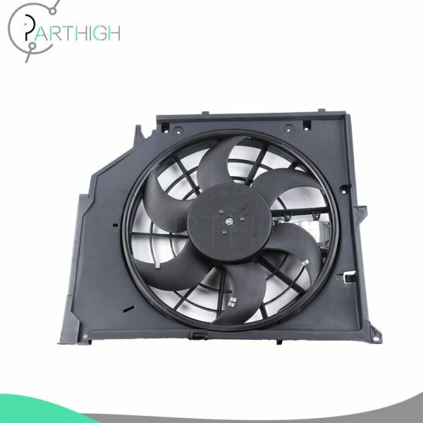 Radiator Cooling Fan Assembly Electric For 2001 2002 2003 2005 BMW 325xi Base $98.08