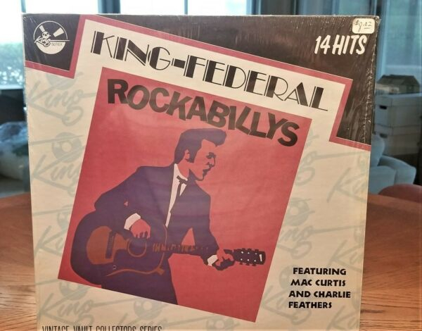 Rockabilly Compilation King Federal Gusto k 5016x
