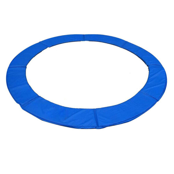 12#x27; 13#x27; 14#x27; 15#x27; Round Trampoline Safety Pad Replacement Frame Spring Blue Cover