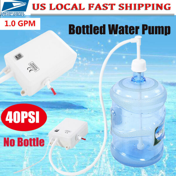 Electric Gallon Bottled Water Dispensing Pump System Drinking Water Home Office $76.50
