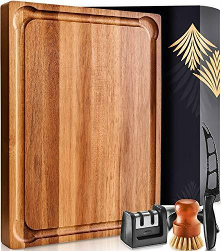 Large Wood Cutting Board with Handle Butcher Block Cutting Board Wood Large Wo