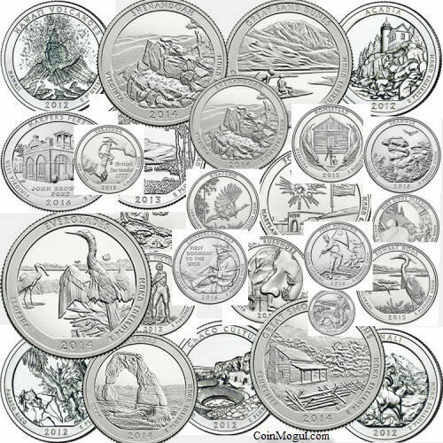 2010 2021 P ATB National Park Quarters Choose Any Coin or Coins U.S. Mint Coins
