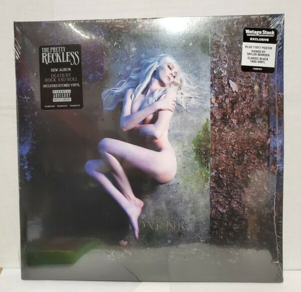 Pretty Reckless Death By Rock amp; Roll LP w exclusive signed poster NEW SEALED