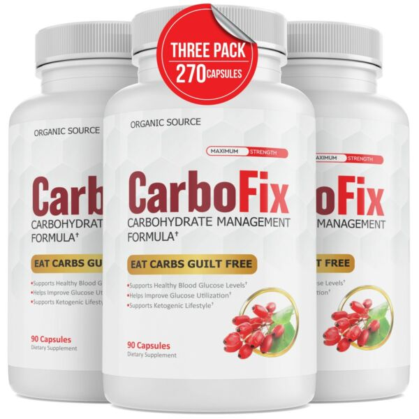Carbofix Advanced Carbohydrate Management Formula Diet Pills Weight Loss Keto $29.20