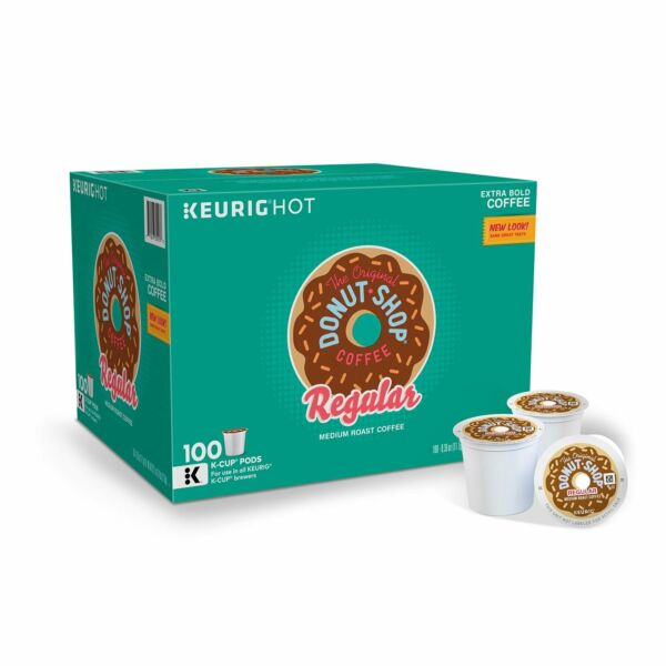 The Original Donut Shop K Cup Pods Medium Roast Coffee 100 Count {AB condit.}