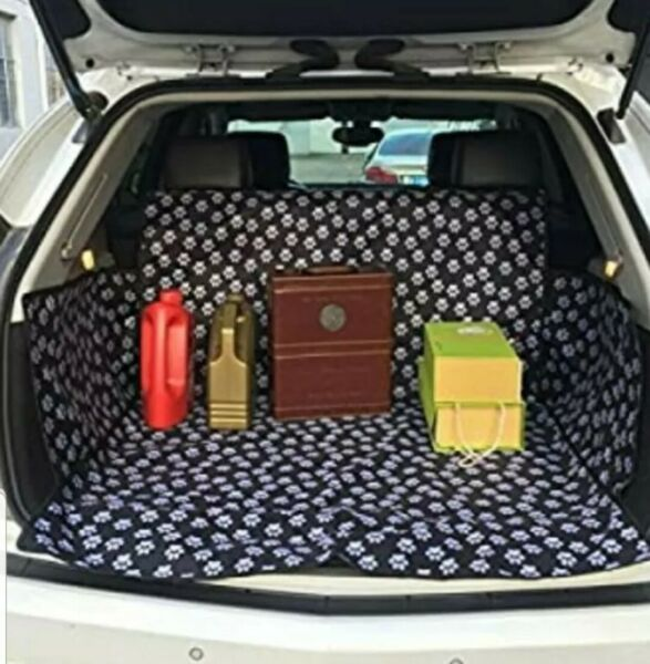Pet Dog Waterproof Cargo Liner Non Slip Backing Trunk Oxford Car SUV Seat Cover $19.99