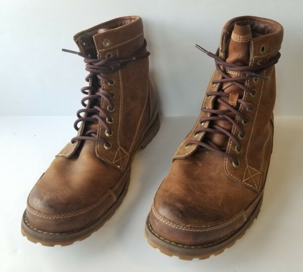 Timberland 15551 Men#x27;s Earthkeepers 6quot; Lace Up Brown Boots Sz 10.5 M $49.99