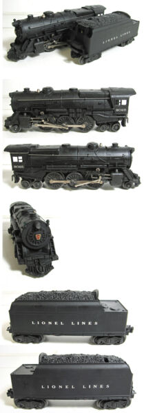 LIONEL 2025 2025 2 6 2 OR 2 6 4 STEAM LOCOMOTIVE AND TENDER $395.00