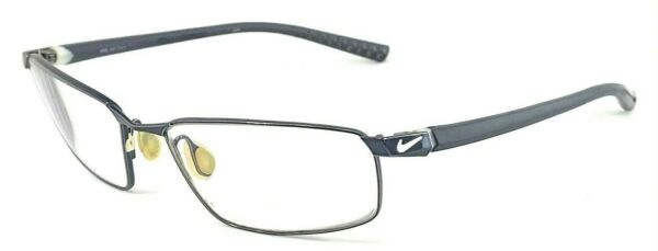 NIKE with FLEXON 4210 441 Navy Blue Polished Matte 55 16 145 Eyeglasses Frame