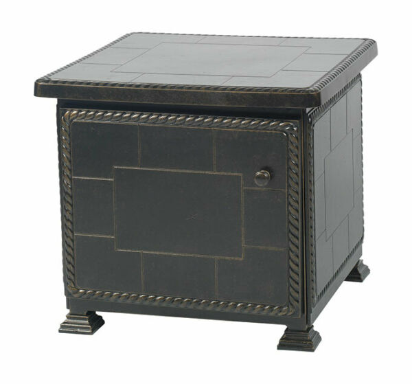 Gensun: 1 Paradise 24quot; Outdoor Patio Square Storage End Table $667.97