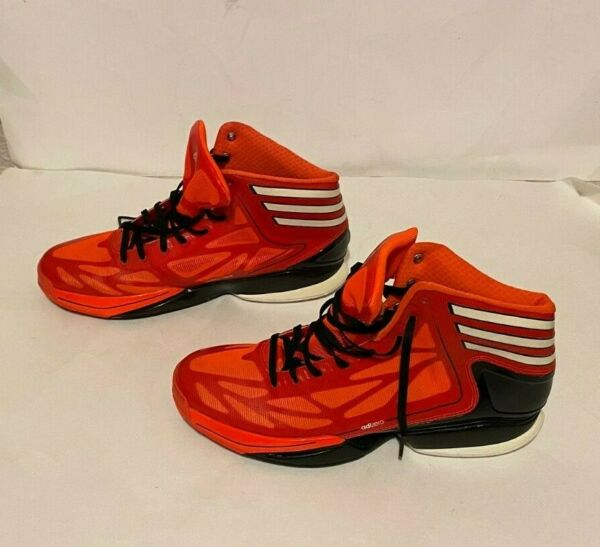 Men#x27;s Adidas Adizero Crazy Light 2 #x27;Infrared#x27; Shoes Size US 11.5 Basketball Red